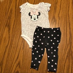 Baby Girl Minnie Outfit